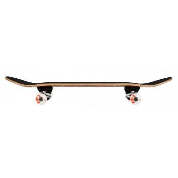 Rocket Surveillance Series Complete Skateboard - Flames Orange