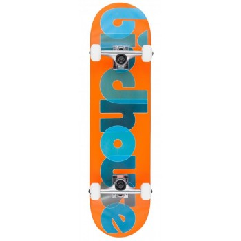Birdhouse Stage 1 Opacity Logo Complete Skateboard Orange -8