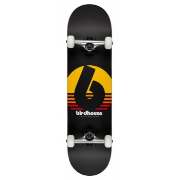 Birdhouse Stage 3 Sunset Complete Skateboard Black 8