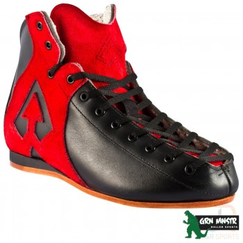Antik AR-1 Skate Boot - Black/Red