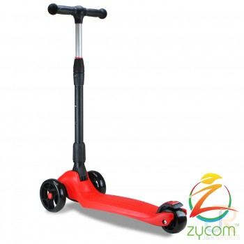 Zycom Zinger 3 Wheel Kids Scooter - Red/Black