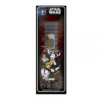 Santa Cruz x Star Wars Skateboard Deck Trash Compactor - 8.375