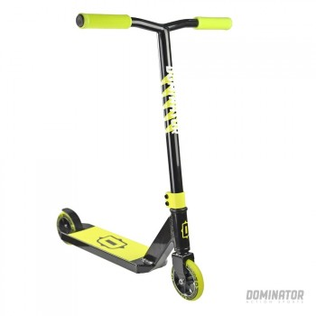 Dominator Trooper Complete Scooter - Black/Neon Yellow