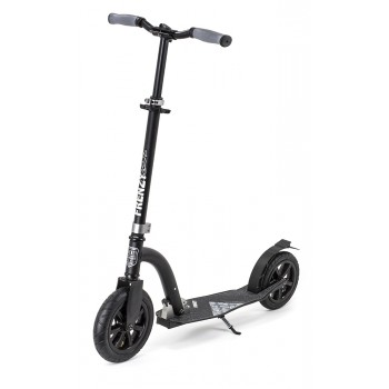 Frenzy 230mm Pneumatic Adult Scooter - Black