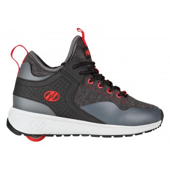 Heelys Piper Black Heathered/Red