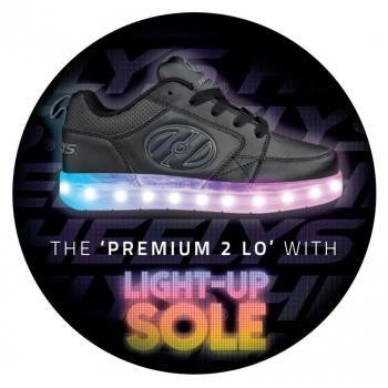 Heelys Premium 2 Lo Black/Grey
