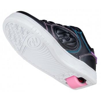 Heelys Voyager (HE100604) - Black/Pink/Rainbow Foil