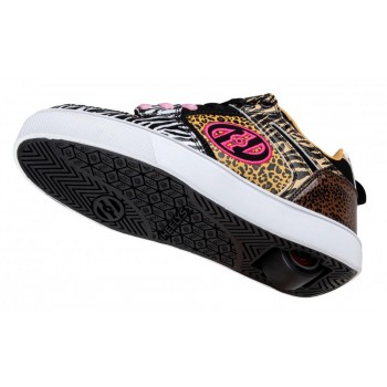 Heelys Motion 2.0 (HE100674) - White/Black/Tan/Animal Print