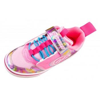 Heelys Rocket X2 (HE100849) - Neon Pink/Glitter/Multi