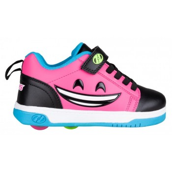 Heelys Dual Up X2 (HE100788) - Black/Hot Pink/Cyan/Yellow