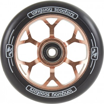 Longway Precinct 110mm Pro Scooter Wheels - Rose Gold
