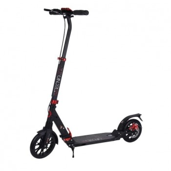 Tempish Tecniq 200mm Dual Brake Adult Scooter - Black/Red