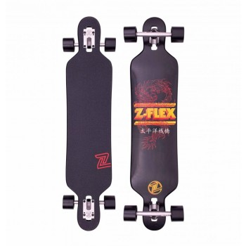 Z-Flex Dragon Drop Through Longboard 41