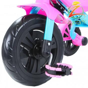 Zycom Folding Z-Trike Girls Pink/Sky Blue
