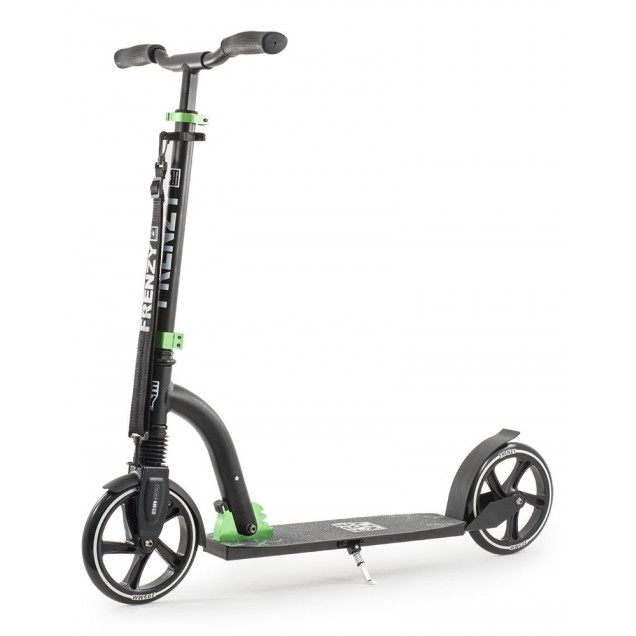 Frenzy 205mm Suspension Adult Scooter - Black