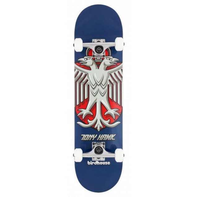 Birdhouse Stage 1 Hawk Shield Complete  Skateboard Blue 8