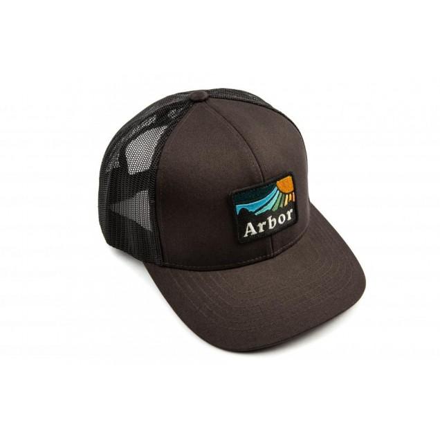 Arbor Cap High Rise Trucker Vintage - Black