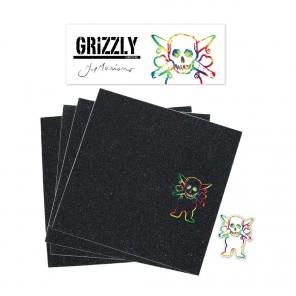 Grizzly Guy Mariano Longboard Skateboard Griptape