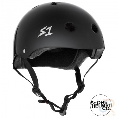 S One Mega Lifer Helmet - Black Gloss