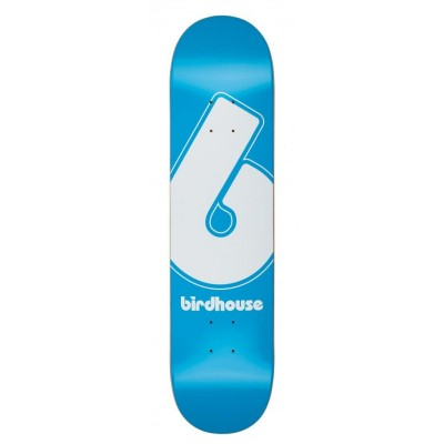 "Birdhouse Giant B Logo Skateboard Deck - Blue 7.75"""