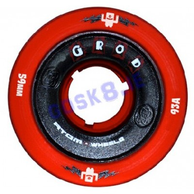 Atom G-Rod Wheels Red 93A 2014