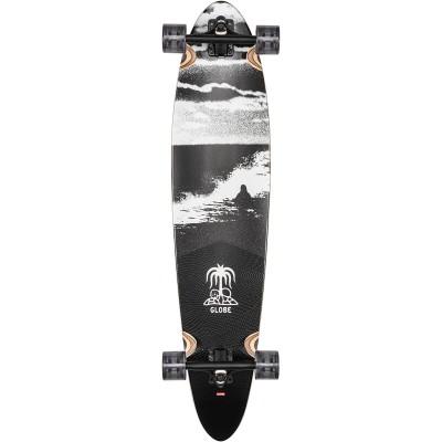 "Globe Pinner Classic Longboard Coconut/Black Tide 40"""