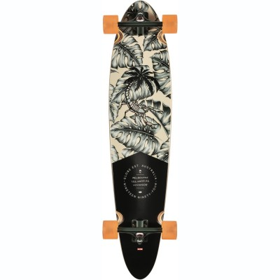 Globe Pinner Classic Longboard Hurricane Leaves 40""
