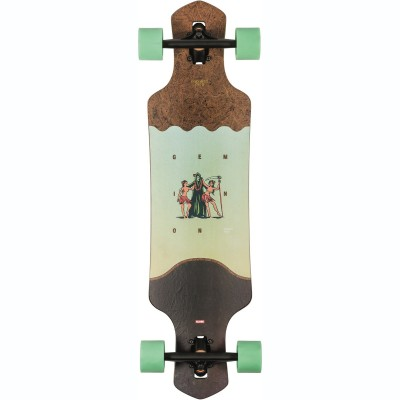 "Globe Geminon Drop Through Longboard 35"" - Coconut/Reaper"