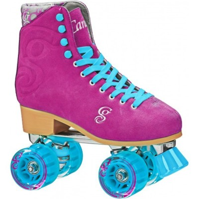 Roller Derby Elite Candi Carlin Quad Skates - Berry