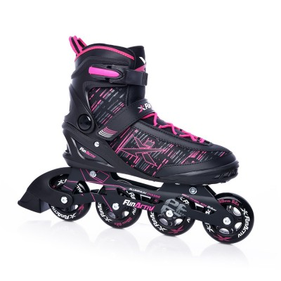 FunActiv Peer Ladies Inline Skates - Black/Pink