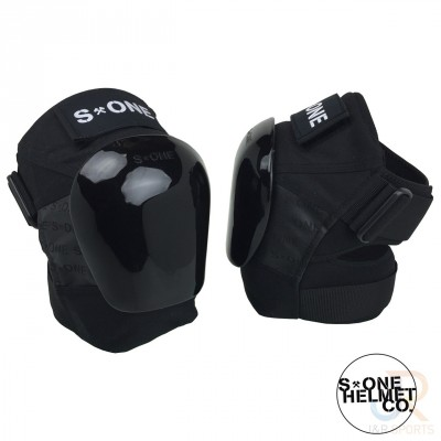 S One Pro Knee Pads - Black/Black