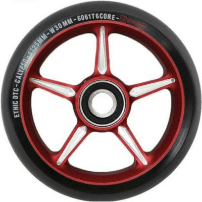 Ethic DTC Calypso 125mm Scooter Wheel - Red