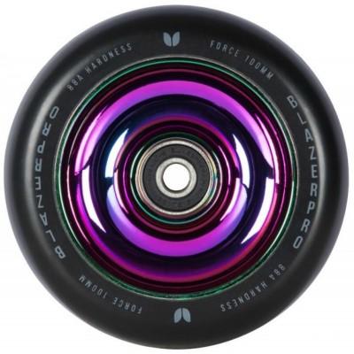 Blazer Pro 100mm Force Scooter Wheel - Black/Neochrome