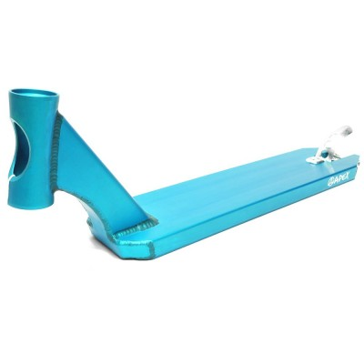 Apex Pro Stunt 600mm Scooter Deck - Turquoise