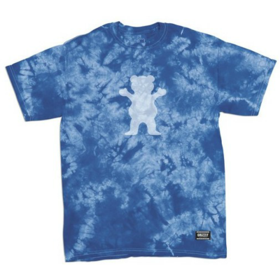 Grizzly Shatter OG Bear T-Shirt - Blue