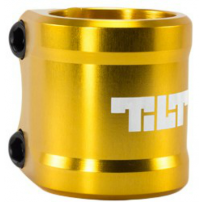 Tilt Arc Double Scooter Clamp - Gold