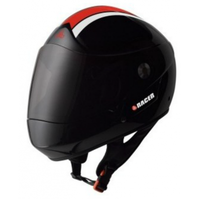 Triple 8-Racer Downhill Helmet Black