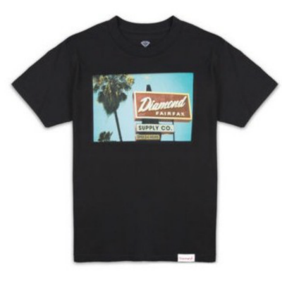 Diamond Deli Tee - Black