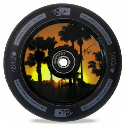 Lucky Tanner Fox Signature Hollow Core Scooter Wheel - Black
