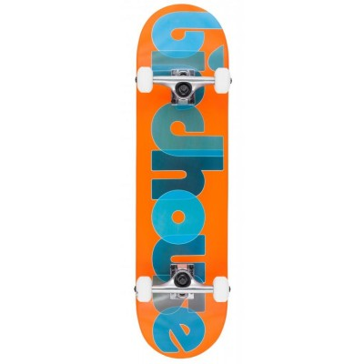 Birdhouse Stage 1 Opacity Logo Complete Skateboard Orange -8""
