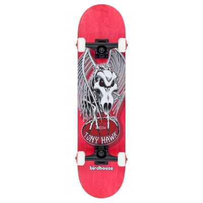 """Birdhouse Stage 3 Falcon 4 Complete Skateboard Red 7.5"""""""