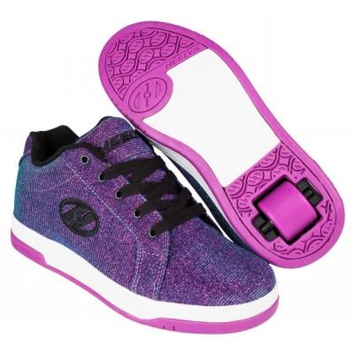 Heelys Split - Purple/Aqua