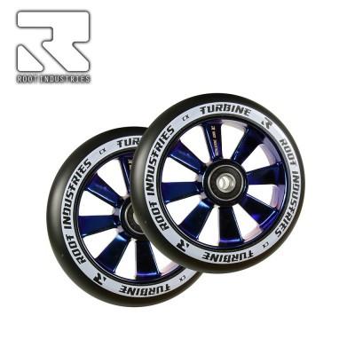 Root Industries TURBINE Wheel 110mm - Black/Blu Ray