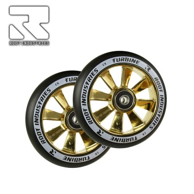 Root Industries TURBINE Wheel 110mm - Black/Gold