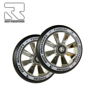 Root Industries TURBINE Wheel 110mm - Black/Mirror