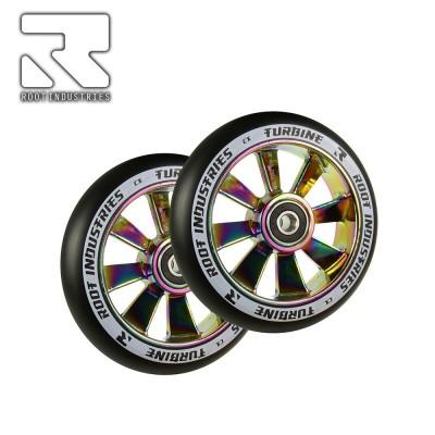Root Industries TURBINE Wheel 110mm - Black/Rocket Fuel