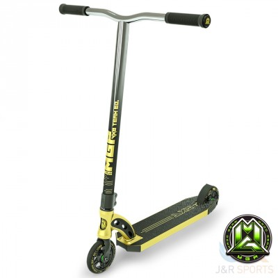 MGP VX8 Team Edition Stunt Scooter - Gold/Chrome