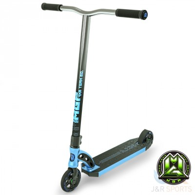 MGP VX8 Team Edition Stunt Scooter - Electric Blue/Chrome