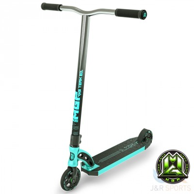 MGP VX8 Team Turquoise/Chrome Stunt Scooter