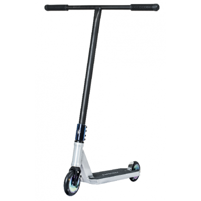 UrbanArtt Primo Complete Scooter - Raw/Blue